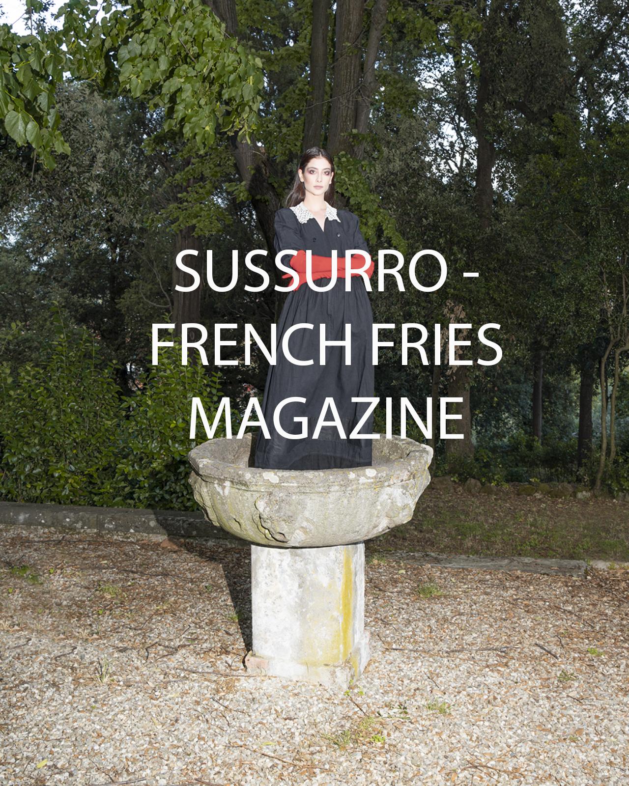 SUSSURRO - FRENCH FRIES MAGAZINE
